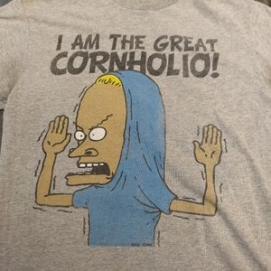 beavis and butthead Shirts - BEAVIS AND BUTTHEAD T-SHIRT 👕 GREAT CORNHOLIO Tee